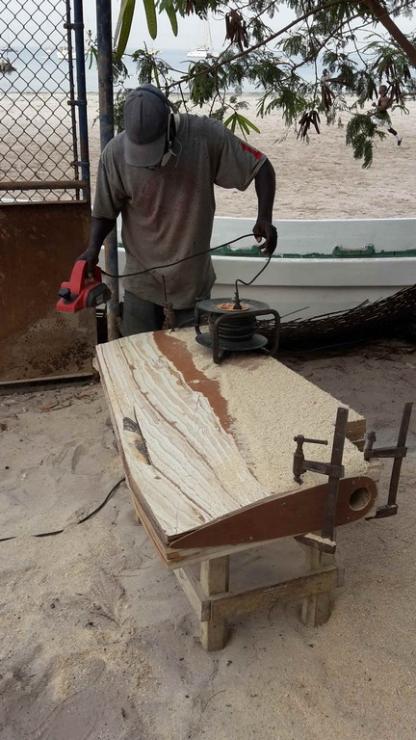 Rebuilding A Rudder 6