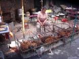 Chicken Market In Jining, China.