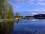 "Reflections On The ""liesjarvi Lake"""