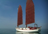Chineel Showing Off Her Sails.