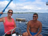Relaxing After A Great Sail
