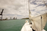 Port Side, As We Headed Out The Port Of Miami