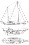 Newporter 40 Drawing