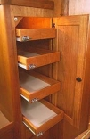 Hanging Closet Drawer Refit