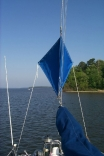 Riding Sail For Split Backstay