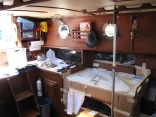 Willard carboard possible navigation / quarter berth mock-up
