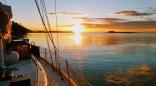 Sunset At Tumbo Island