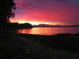 Sunset, Dryad Point, British Columbia