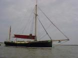 Juno traditional sailing barge