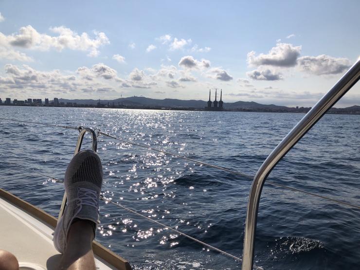 Cruising Next To Barcelona