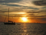 Sunset At Blue Pearl Bay Hayman Island Australia