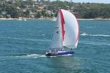 Farr 44 Entering Port Hacking Sydney Australia