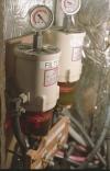 Homemade Fuel Filter Setup