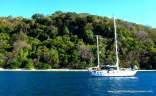 Anchored In Gulf Of Papagayo, Costa Rica
