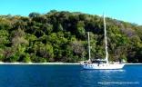 Anchored In Gulf Of Papagayo, Costa Rica
