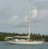 Enchantress Anchored Off Antigua