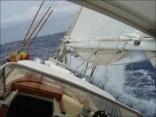 Enchantress Under Sail