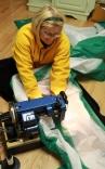 Sewing A Sailrite Spinnaker Kit
