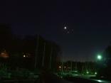 Conjunction Of Moon, Venus, And Jupiter