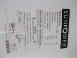 Sunpower X21-345