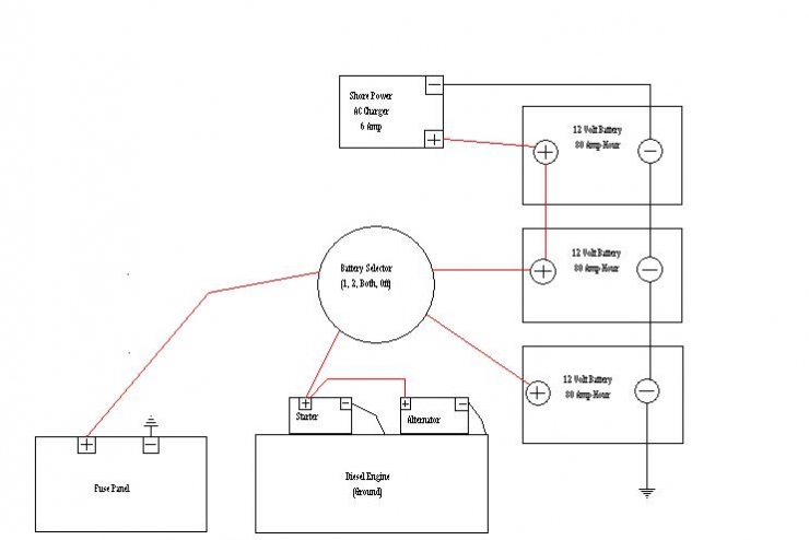 12vdc Electrical Schematic