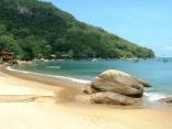 Praia Picinguaba, Ubatuba, Costa Verde, Brazil