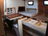 starboard side interior