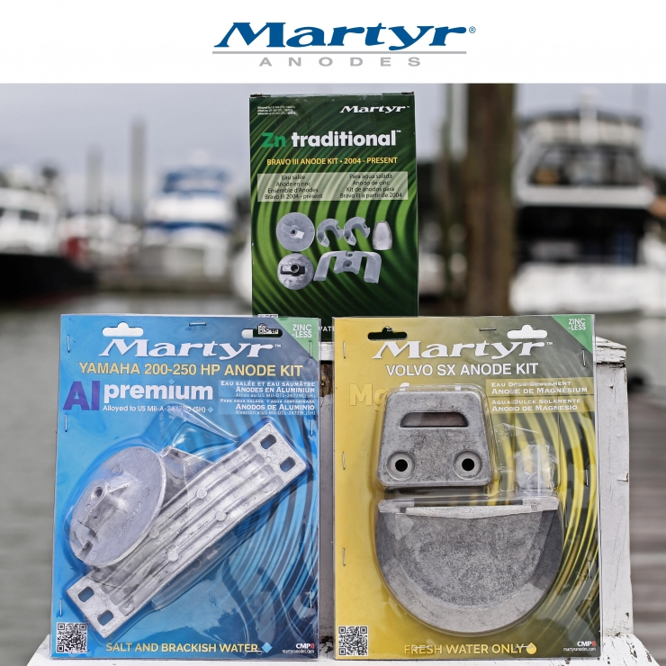 New Martyr Anode Kits