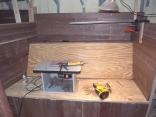 Starboard Salon Bench