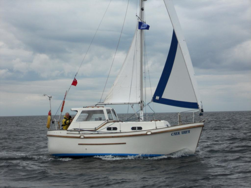Peace at 5 Knots 10 Mile Offshore
