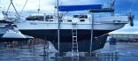 Misty Of Gosford. Custom Design Cruising Yacht.