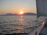 Sailing Around Nisos Idhra, Greece