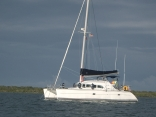 Lagoon 380 At Sail Cay, Bahamas