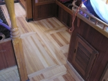 Laying a timber floor