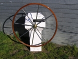 Wheel and Pedestal