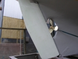 New rudder