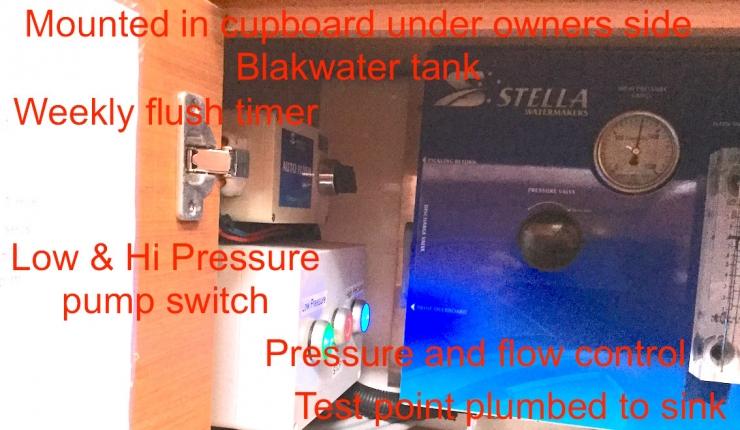 Water Maker Control