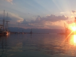 Port Of Rijeka, Croatia @sunset