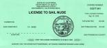 Nude Sailing License
