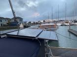 Additional Solar Install On Tayana 52 Bimini