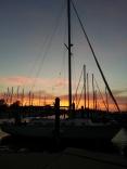 Sunset In Cambridge