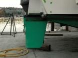 Semi Balanced Rudder For A Catalac 9m