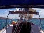 Navigating in the Bahamas