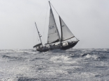 Seraphim Pounding Upwind in Heavy Air
