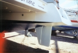 Modified 9m Catalac Rudder