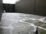 Turbulence in the Wilson Lock, TN River