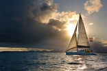 Mustang Sally At Sunset In Bvi
