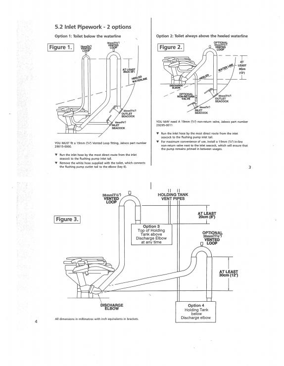 Plumbing Diagram For Marine Head
