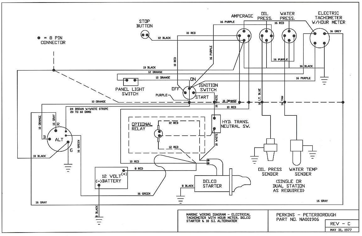 Boat Diesel Wiring Block And Schematic Diagrams Battery Diagram Perkins Engine Perfkins Cruisers Rh Cruisersforum Com Most Basic