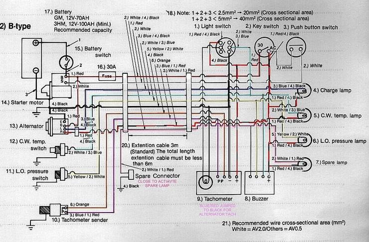 yanmar engine wiring wiring diagram for yanmar engines. Black Bedroom Furniture Sets. Home Design Ideas
